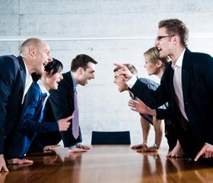 конфликты в коллективе
